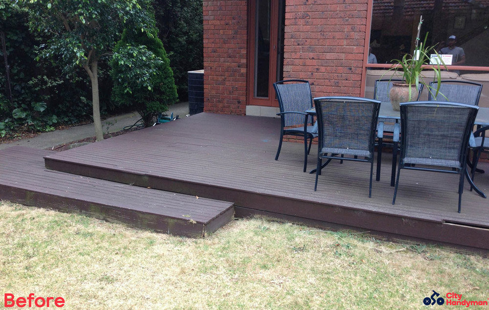 City-Handyman-Melbourne-Deck-Replacement-St-Kilda-Before