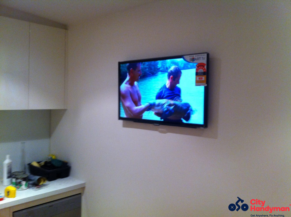 City-Handyman-Melbourne-TV-Mounting
